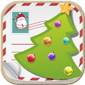 Xmas greetings 2015 icon
