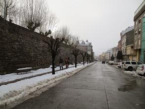 Photo: Iniciando la etápa por las rúas de Fonsagrada.