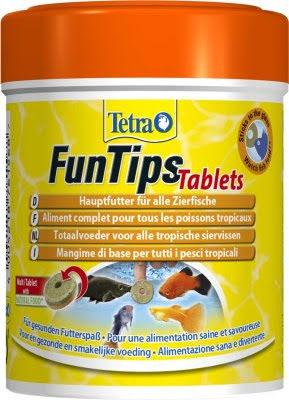 Tetra FunTips 165 Tabletter 65g 150ml