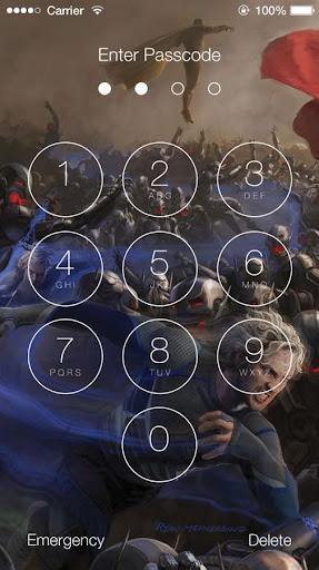 Avengers: Age of Ultron Lock Screen 1.4 screenshots 4