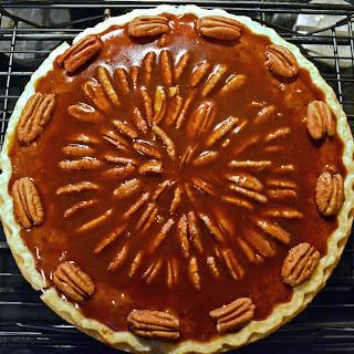 Salted Caramel Chocolate Pecan Pie