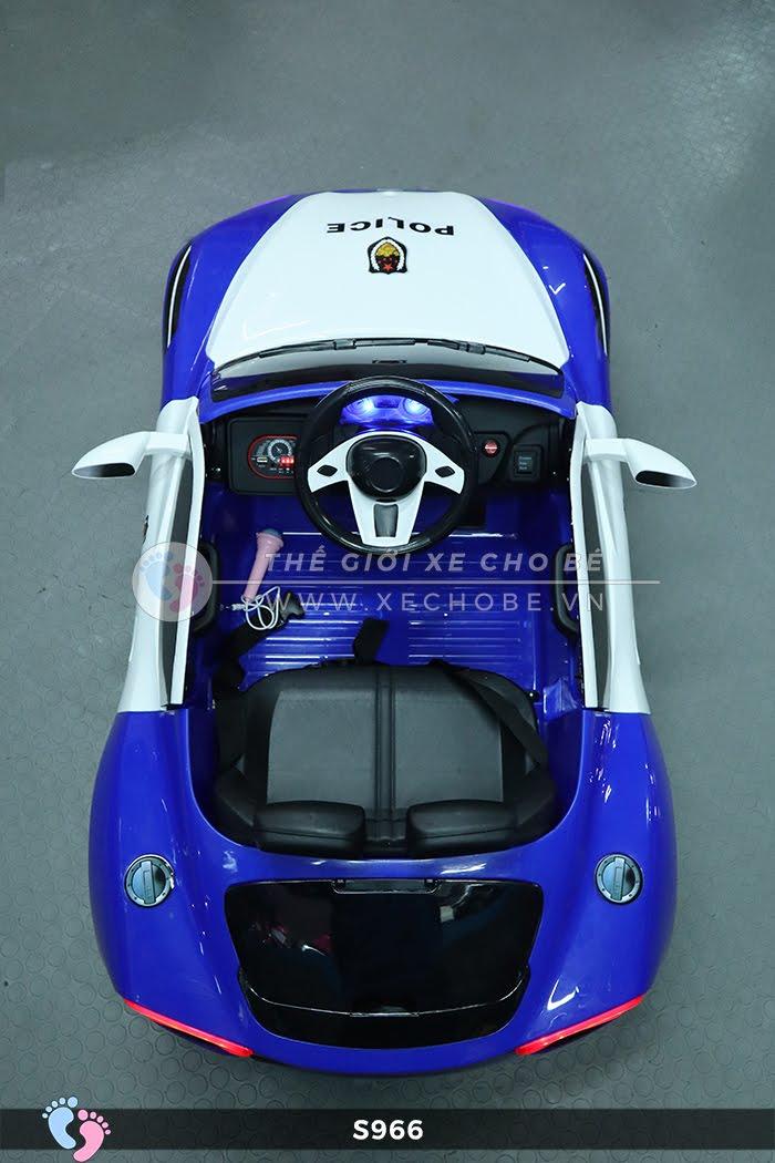 Xe ô tô điện cho bé Police XYS-966 16
