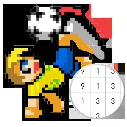 Football Pixel Art Color By Number App Apk Free Download