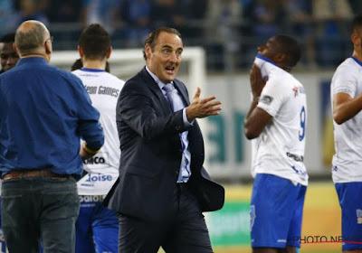 Hein stelde zich vragen over de conditie van sommigen bij Anderlecht, maar Vanderhaeghe doet hetzelfde bij Gent
