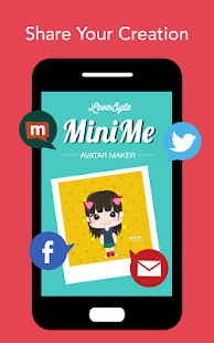 LoveByte MiniMe Avatar Maker- screenshot thumbnail