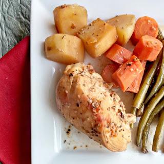 Slow Cooker Sesame Seed Honey Chicken.