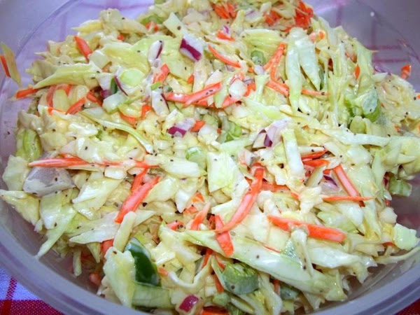 Colorful ~ Tasty ~ Coleslaw Recipe