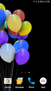 Balloons 3D Live Wallpaper screenshot 4