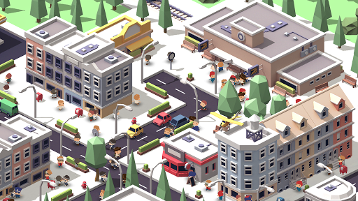 Idle Island - City Building Idle Tycoon (AR Mode) android2mod screenshots 6