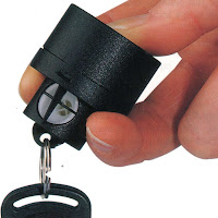 Using a Keyring personal alarm