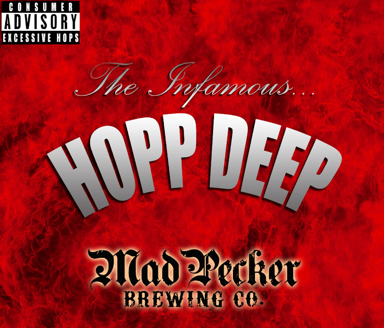 Logo of Mad Pecker The Infamous... Hopp Deep