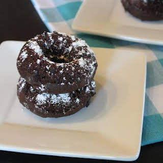 Double Chocolate Doughnuts- 5 Ingredients or Less.