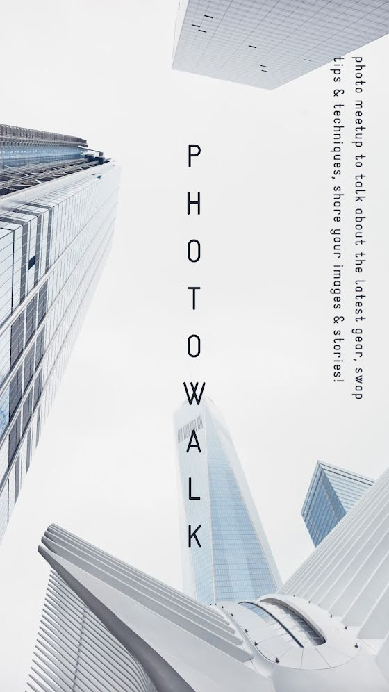 City Photo Walk - Facebook Story Template