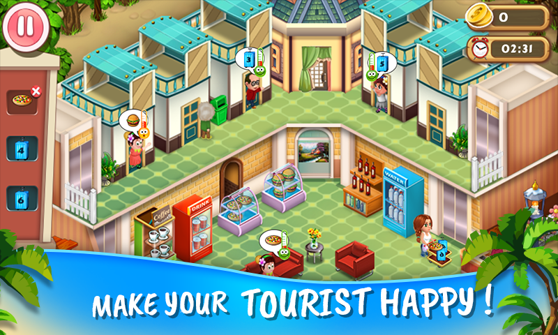 Resort Island Tycoon- screenshot