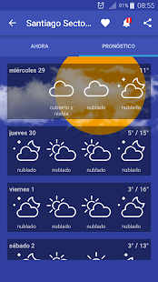 Meteorología Chile- screenshot thumbnail