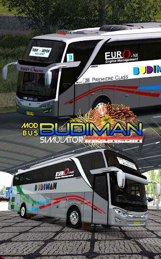 Mod Bus Budiman Simulator Indonesia 1.1 screenshots 1