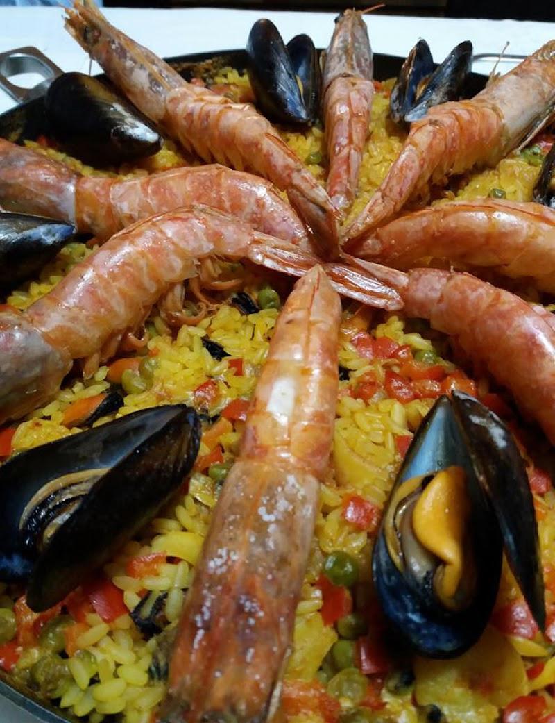 Paella a cena di Andrea F