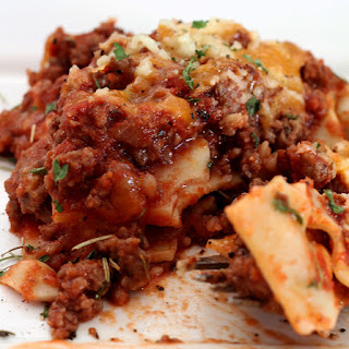 Lasagna With Cheddar Cheese Recipes