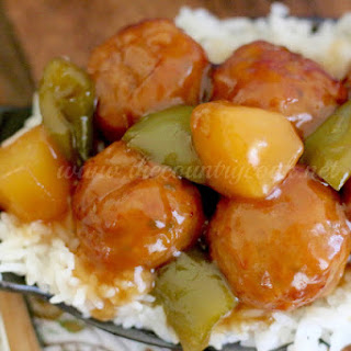 Crock Pot Sweet & Sour Meatballs.