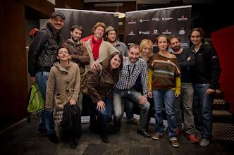 Photo: Le Videophage, el equipo de ProyectAragón y Vicky Calavia