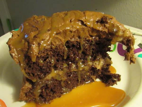 This Frosting Is Amazing!! I Used Two Chocolate Cake Mixes With German Chocolate Frosting Between The Layers And Topped It With This Frosting (using Chocolate Pudding Mix)  Then Drizzled With Caramel Syrup.  Literally The Best Cake I've Ever Had.