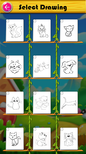 Kitty Coloring Book & Drawing Game 2.0.0 screenshots 2