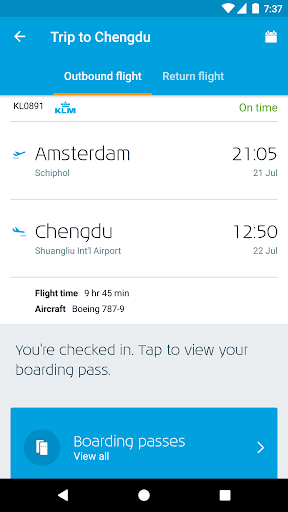 KLM - Royal Dutch Airlines  screenshots 2