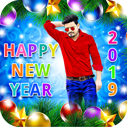 Happy New Year Photo Editor Frame