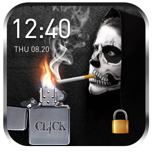 cigarette & smoke Lock Screen file APK for Gaming PC/PS3/PS4 Smart TV