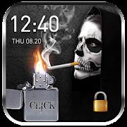 cigarette & smoke Lock Screen