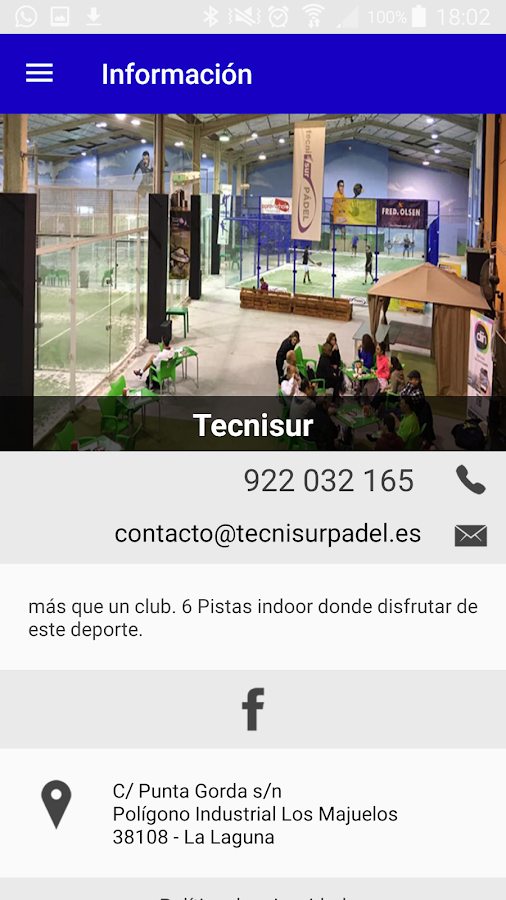 Tecnisur Padel- screenshot