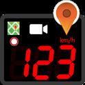 Speedometer GPS dashboard Car Map & Dashcam icon