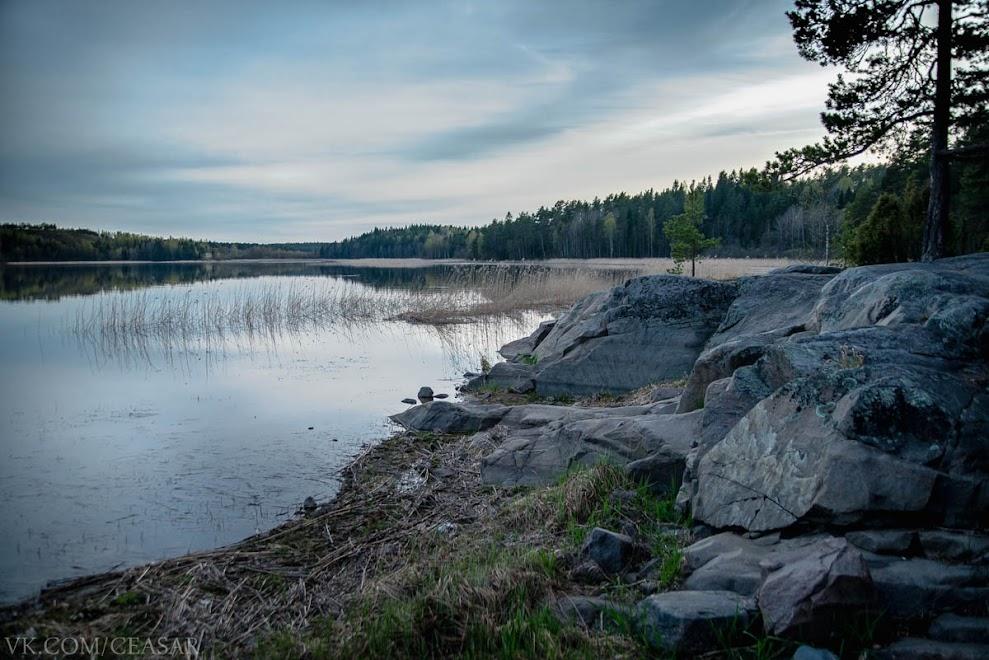 Ладожское озеро со стороны Карелии