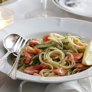 Linguine with Trout and Herbs