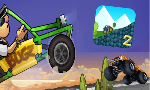 Mad Truck - Hill Racing Car Climb 2 - náhled