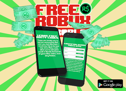 Guide for how to get free Robux for Roblox