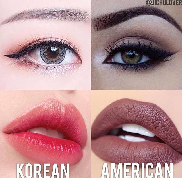 Think Of American Makeup Styles