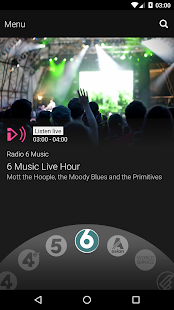BBC iPlayer Radio Screenshot