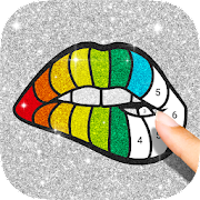 Glitter Color By Number - Glitter Number Coloring 1.4