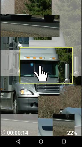 Heavy trucks logic game