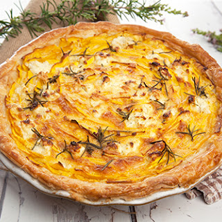 Pumpkin & Feta Tart – Meatless Monday