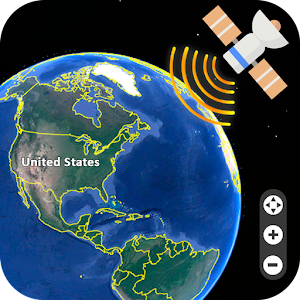 Live Earth Map Satellite View GPS Tracker Android Apps - Earth map live satellite view