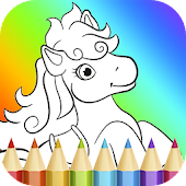Tải Game Pony Coloring Book