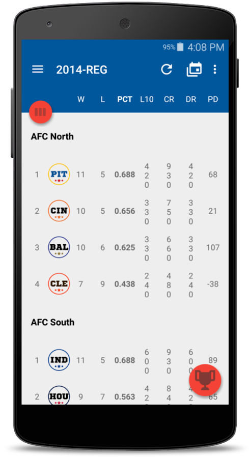 OnPoint Sports - Live Scores- screenshot
