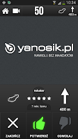 Screenshot of Yanosik navi antyradar kamera