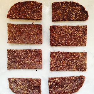 Raw Snack Bars Recipes.