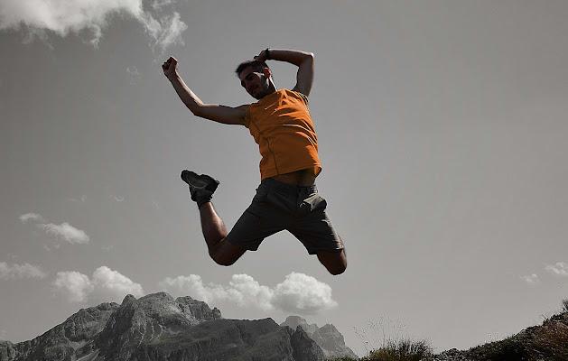 salto nelle montagne di Baffojack
