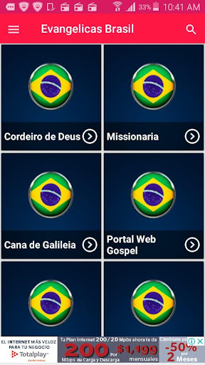 Radios Evangelicas Brasileiras Radio Gospel Brasil ss3