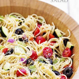 California Spaghetti Salad Recipe