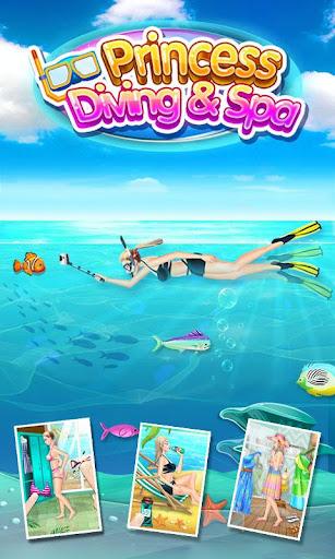 ダイビングプリンセス&SPA - 無料女の子ゲーム